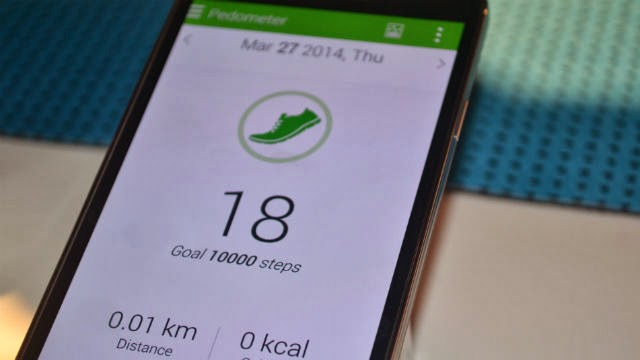 Samsung Galaxy S5 Reviews S Health App