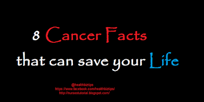 8 Cancer Facts that can save your Life