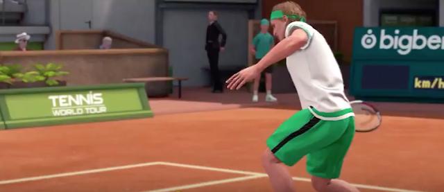 Tennis World Tour comparte tráiler de lanzamiento