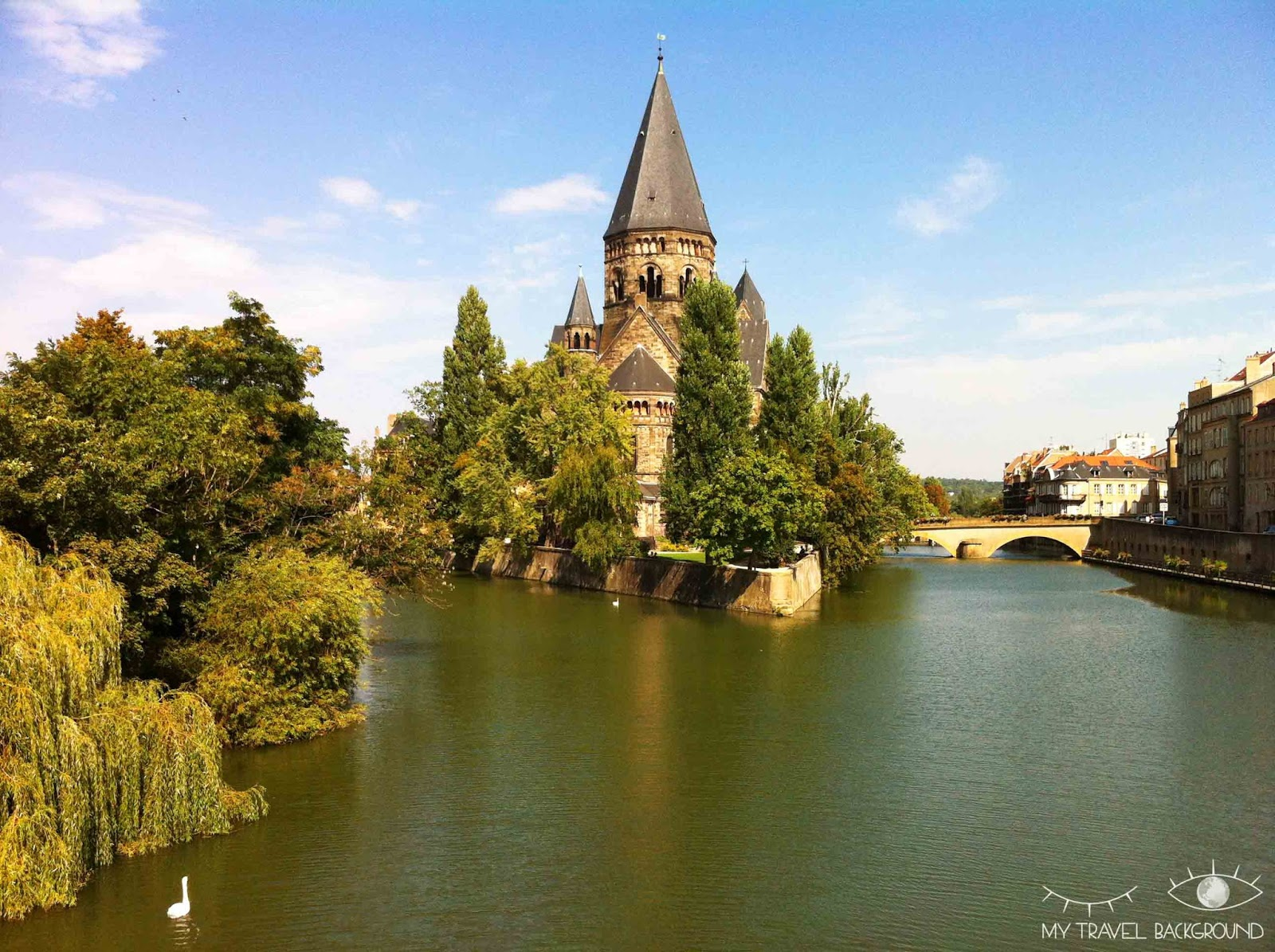 My Travel Background : 12 lieux à visiter à Metz - Le Temple Neuf