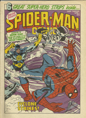 Spider-Man Comic #319, the Cyclone and Moon Knight