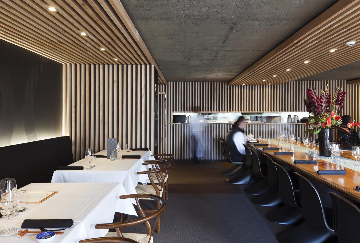 Restaurant interior design cocoro new zealand gascoigne associates