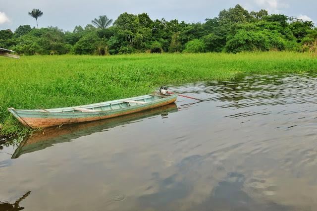 Rio Negro, próximo à Manaus