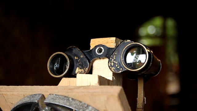WW2 Binocular collimation - clamp to tripod