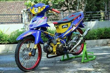 modifikasi yamaha jupiter z