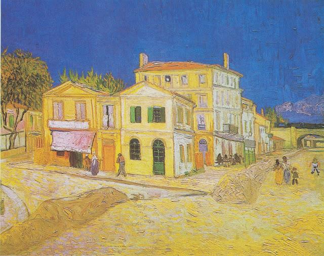 Vincent Van Gogh - La casa amarilla - 1888