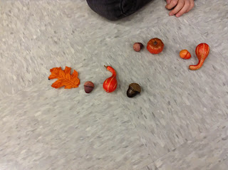 Autumn manipulatives: Cute way to practice rhythmic concepts during fall!