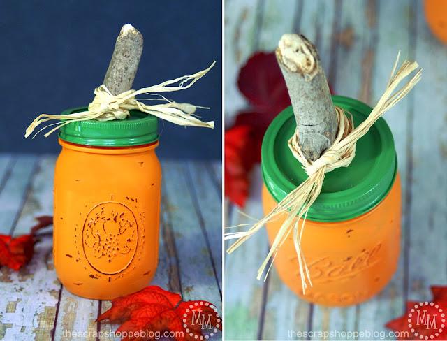 DIY Pumpkin Jars