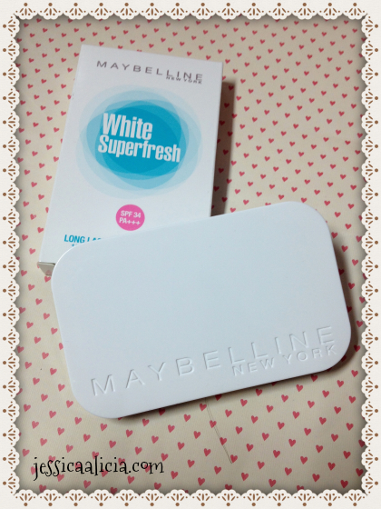 Review : Maybelline White Superfresh Cake Powder #02 by Jessica Alicia