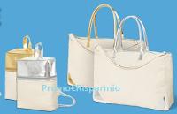 Logo Donna Moderna ti regala il Set Primavera (portafoglio, zaino e borsa viaggio)