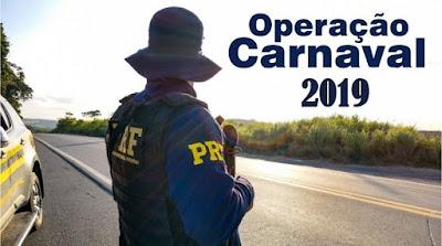 Operação Carnaval 2019 começa nesta sexta-feira (01) nas Rodovias Federais
