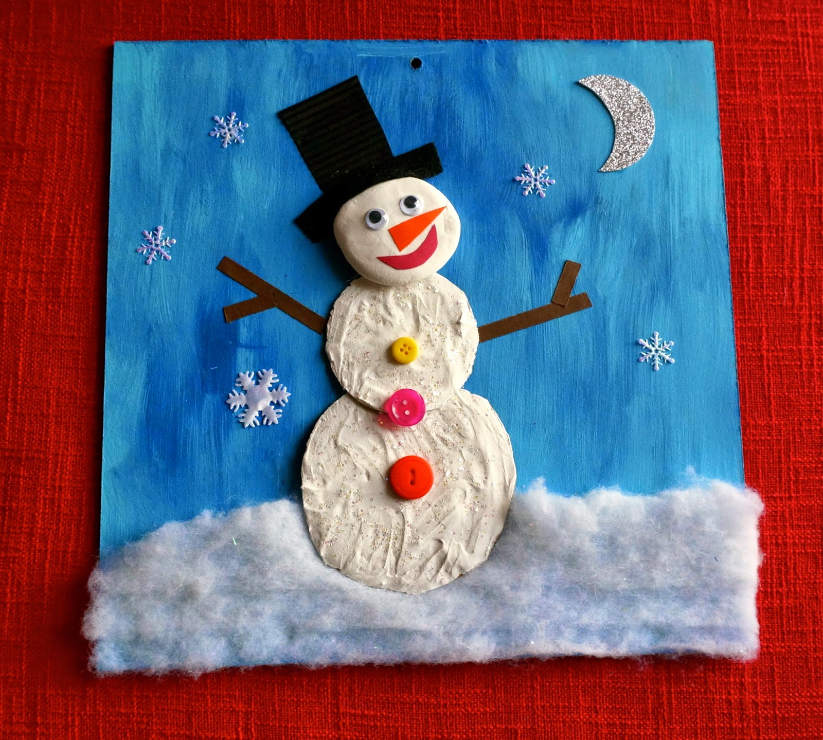 Christmas Art Projects For Elementary School Students