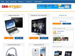 IBS Store blogger template