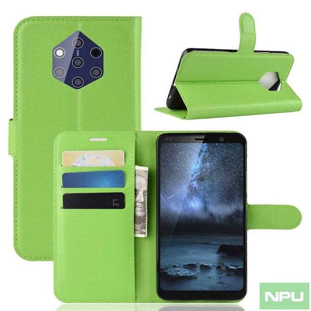 Rò rỉ hình ảnh phụ kiện bảo vệ cho Nokia 9 PureView với 5 camera sau