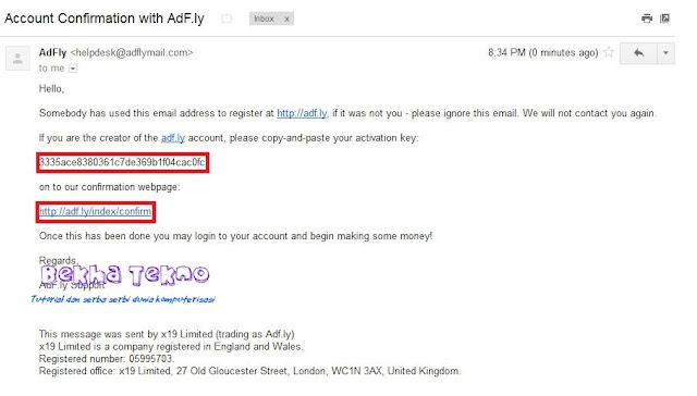 Bagaimana cara mendapatkan uang dari Adfly Bagaimana Cara Daftar dan Mendapatkan Uang Dari AdF.ly