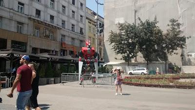 Plaza de la Republica en Belgrado