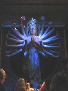 Quin Yin at TAO New York in Blue