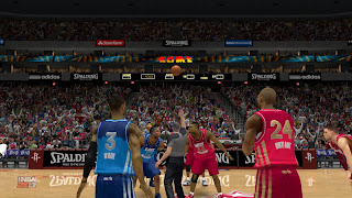 NBA 2K13 PC East vs West - Jump ball
