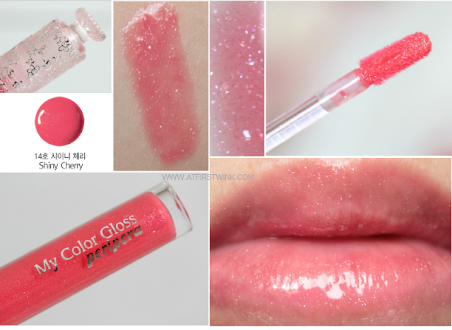 Review: Peripera My Color Gloss 14 - Shiny Cherry