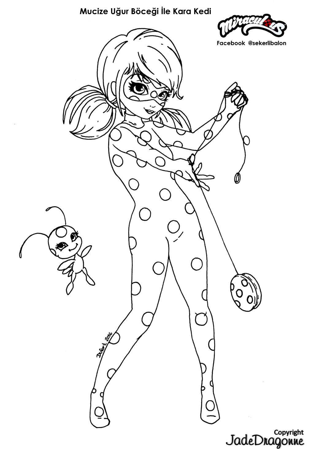 şekerli Balon Mucize Uğur Böceği Ile Kara Kedi Boyama