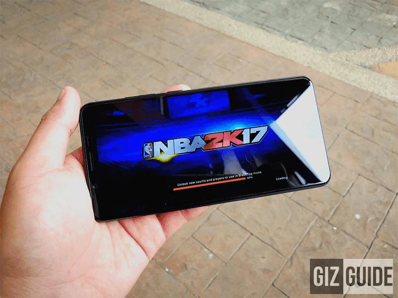 NBA 2K17 on FullView mode!