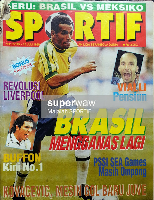 Majalah SPORTIF: BRASIL MENGGANAS LAGI