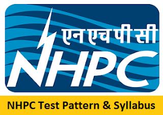 NHPC Test Pattern