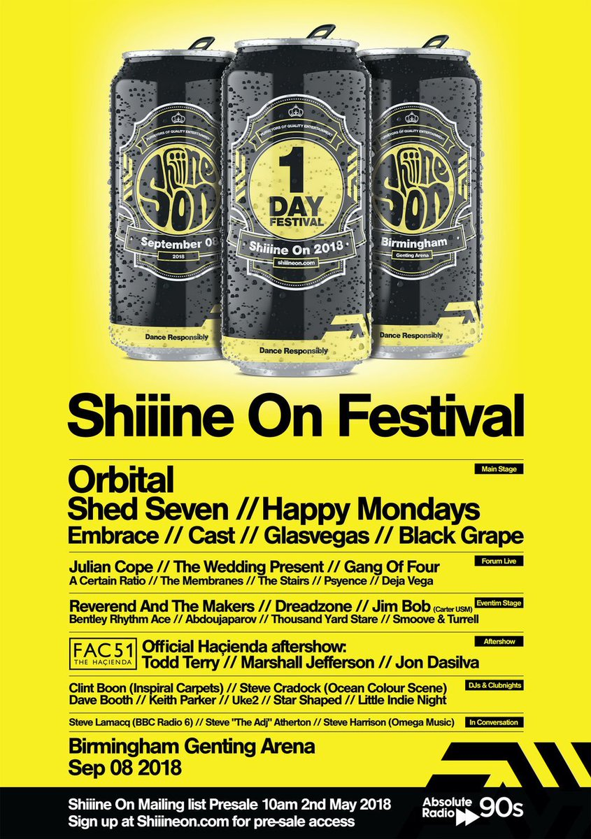 ACR Gigography - Shiiine On Festival