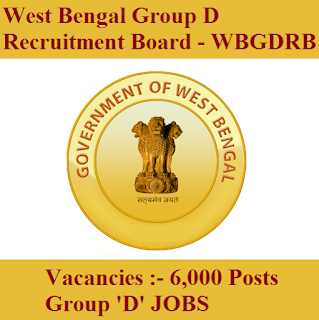 West Bengal Group D Recruitment Board, WBGDRB, WB, West Bengal, Group D, 10th, freejobalert, Sarkari Naukri, Latest Jobs, Hot Jobs, wbgdrb logo