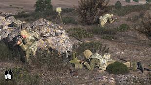 Arma3で現代戦再現のVeteran MODのVSS と Fara-PW レーダー