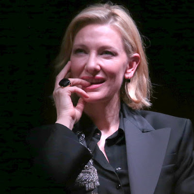 Said Strappy Situation Here Is A Photo Of Cate Biting Her Finger While Thinking About You Thinking About Her Wearing A Strap On While Kissing A Woman