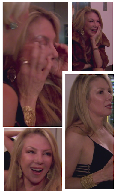 Real Housewives of New York's Ramona Singer in Stella & Dot's Alila Cuff and Chandeliers