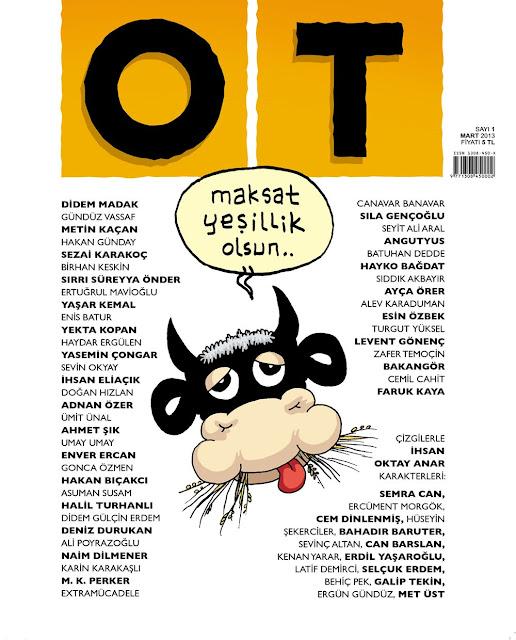 ot dergi ilk kapağı