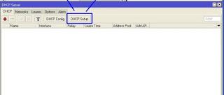 Setting DHCP Server di Mikrotik