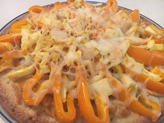 Gluten Free Vegetarian Pizza Featuring Caulipower Crust