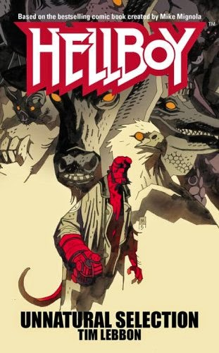 The Crossover Universe: Crossover Cover: Hellboy: Unnatural
