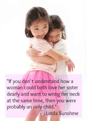 cute sister quotes about love