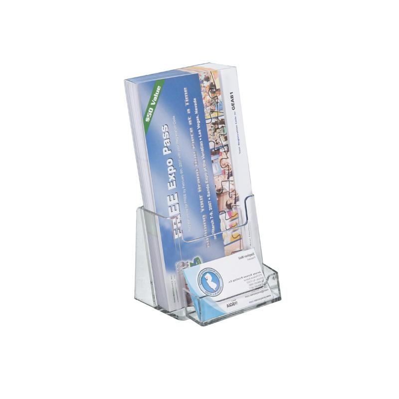 Brochure kiosk pics brochure holder with business card pocket brochure holder with business card pocket colourmoves