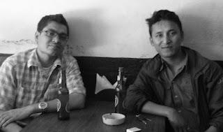 I and Navin in April, 2014