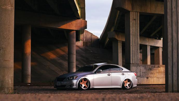 Wallpaper: Car: Lexus IS250