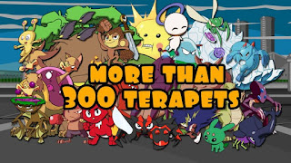 Terapets 1 – Battle Monsters Apk v1.92 Mod (Unlimited Diamonds/Money)