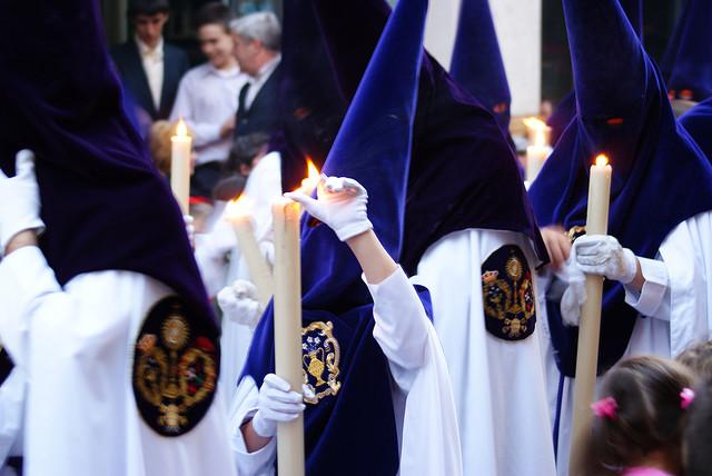 settimana santa Siviglia nazarenos