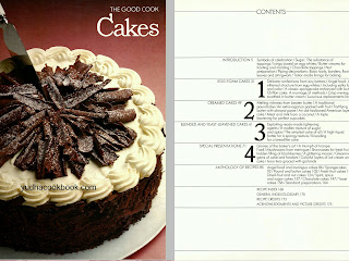 Cakes ebook, life time cooking, the good cook cakea series