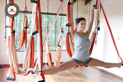 aero yoga mujer