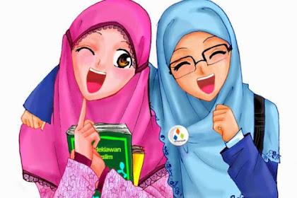 19 Kartun Muslimah Lucu