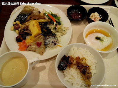 ホテル京阪札幌Hotel Keihan Sapporo breakfast