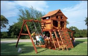 Wooden playground equipment and kids playground sets ...