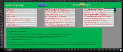 Aplikasi Pengadministrasian Kelas Untuk Jenjang SD SMP SMA dan Sederajat
