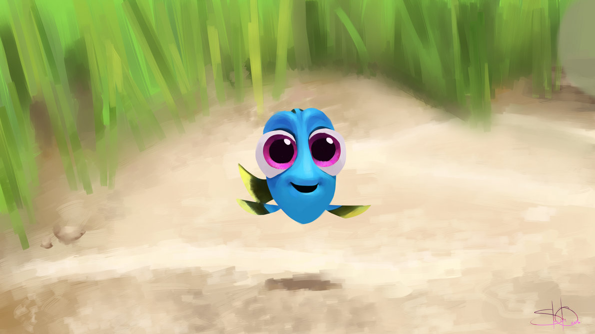 baby dory wallpaper - photo #2