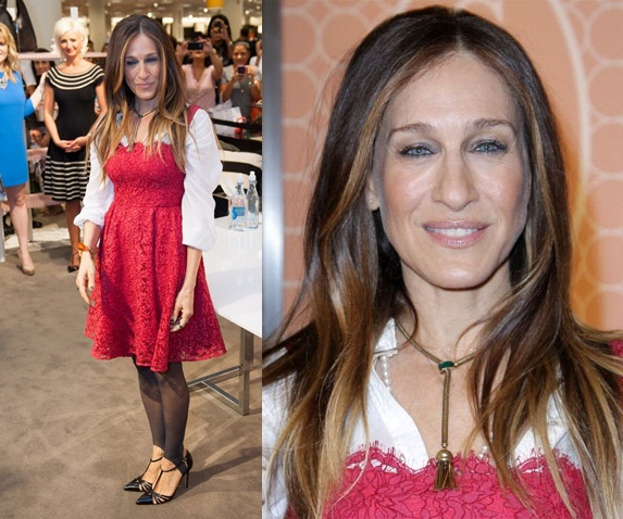 Sarah Jessica Parker in Dolce & Gabbana – The SJP Collection in Salon Shoes Launch At Nordstrom
